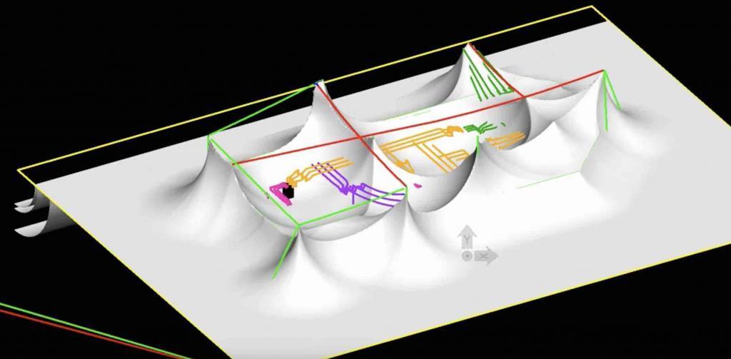 lightning study - rolling sphere method - substation design calculations